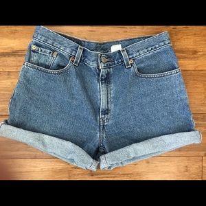 Levi's Jean Mom Bermuda Shorts